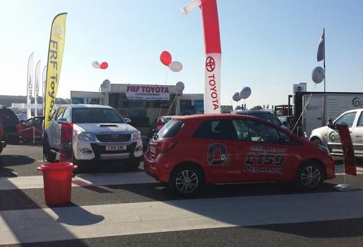 FRF Toyota at the Pembrokeshire County Show 2015